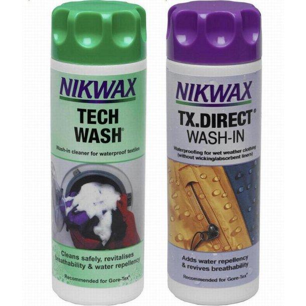 Nikwax Tech Wash 300ml + TX-Direct 300 ml
