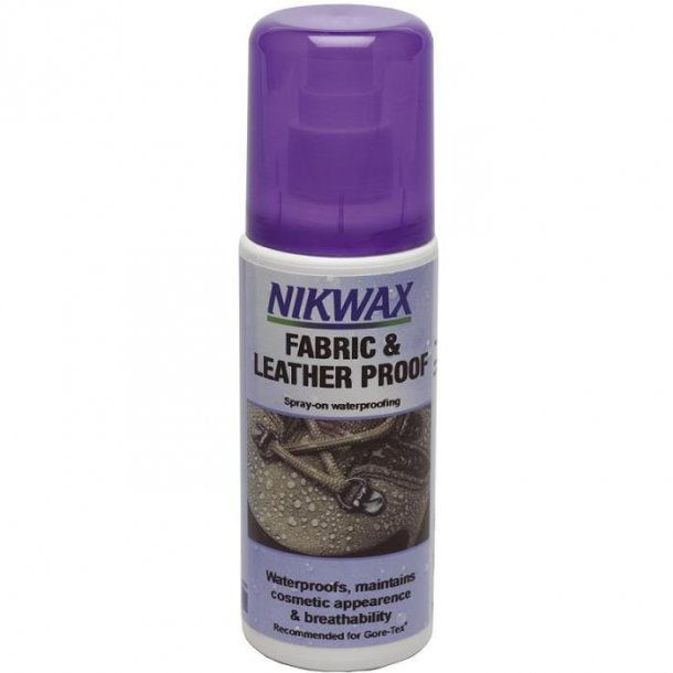 Nikwax Fabric & Leather. Spray on 125ml.