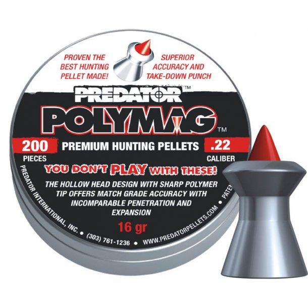 Predator Polymer spidshagl 5,5mm, 16 grains.