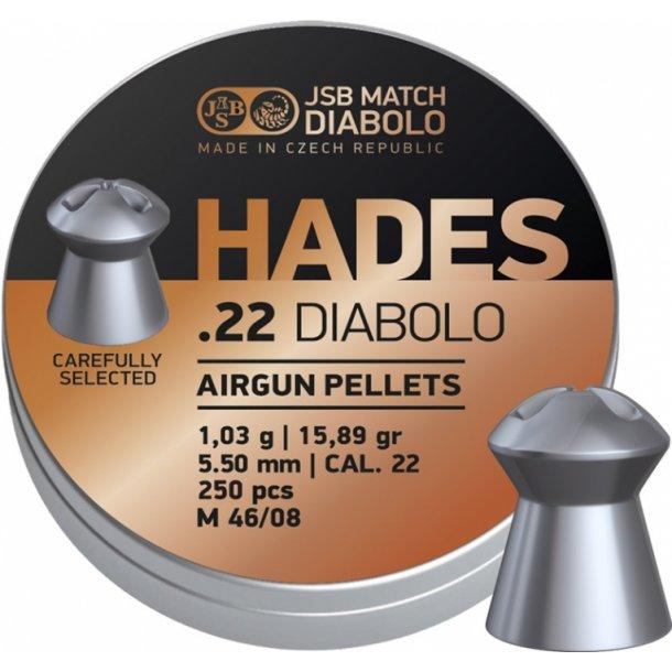 JSB Hades 5,5mm æske med 250 stk.